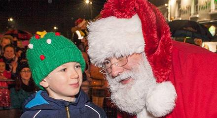 Santa & Fireworks: Switch on of Christmas Lights! 2018