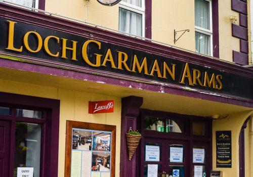 Gleeson's Bar At The Loch Gorman Arms