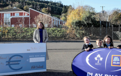 Tara Hill NS wins Aldi Play Rugby Sticker Competition!