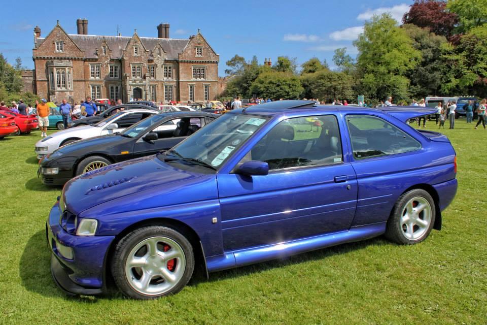 Wells house car show