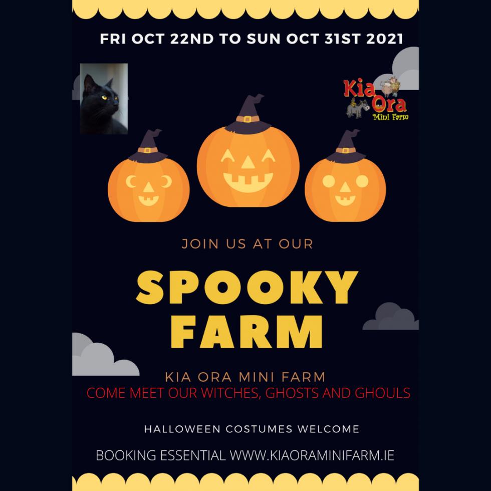 kia ora mini farm halloween