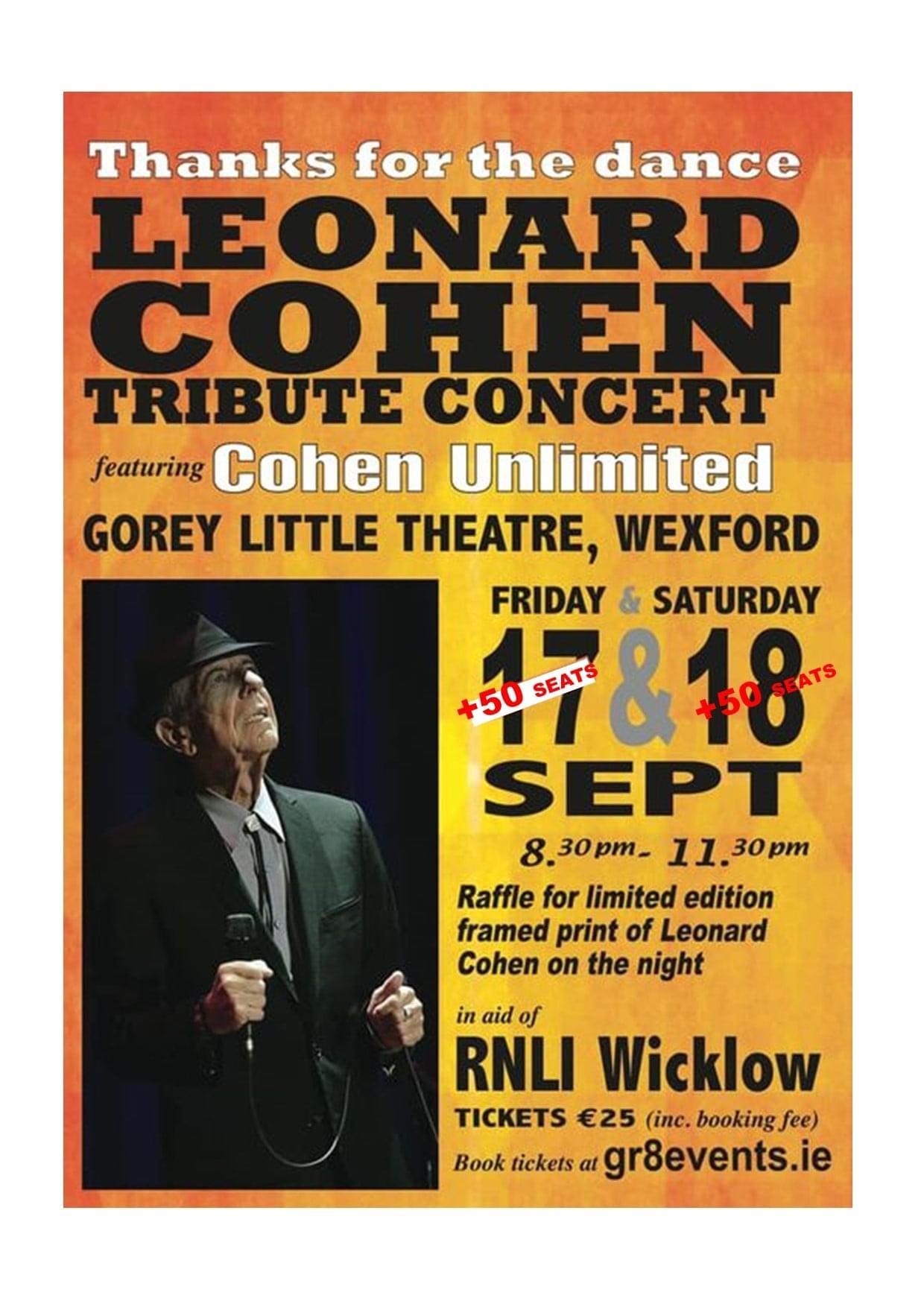 leonard cohen sept gorey little theatre