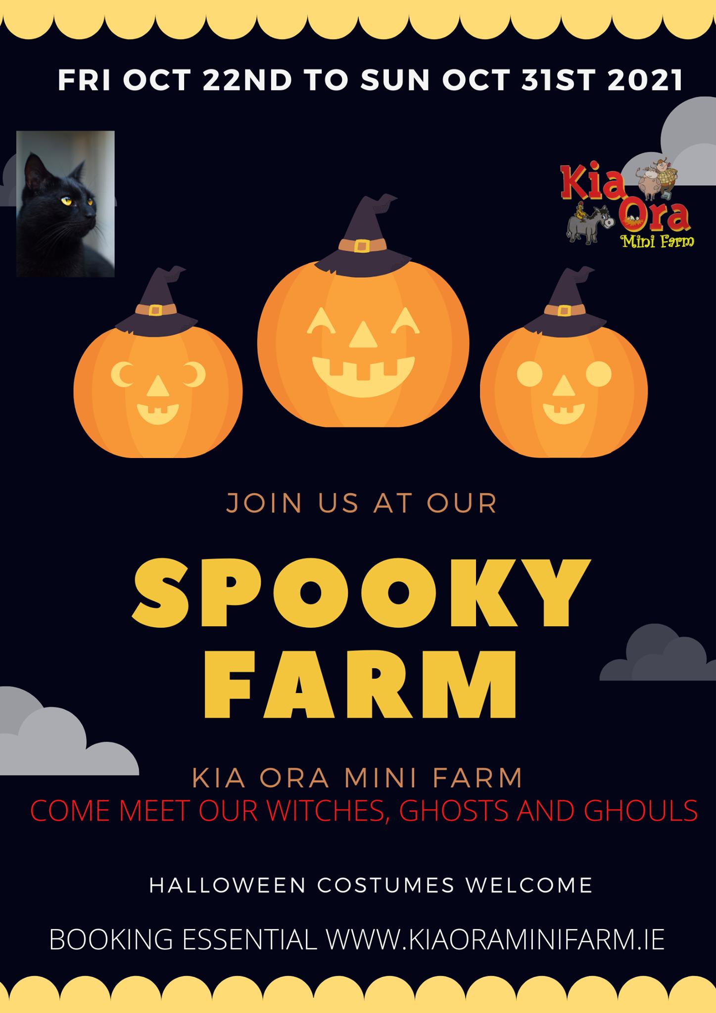 Halloween Gorey Kia ora mini farm