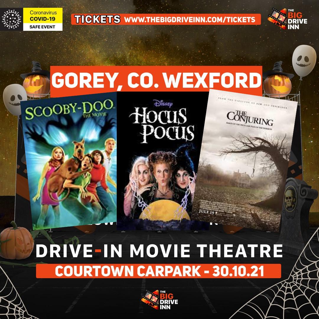 Halloween Drive In cinema Gorey