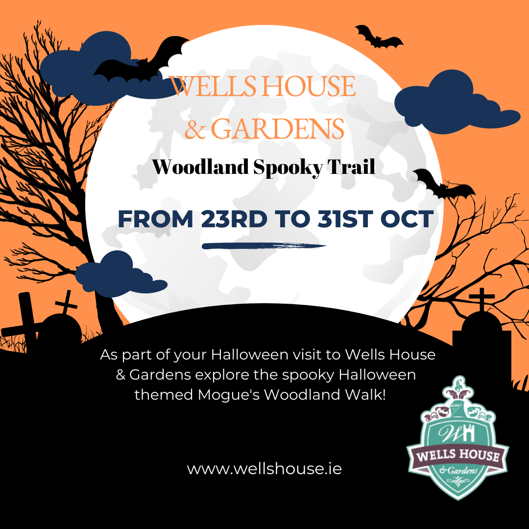 wells house and Gardens Halloween Trail